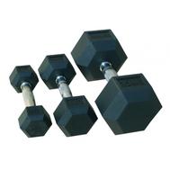 Комплект гантелей JOHNS 72014/32,5-40 гексагональных обрезиненных, фото 1