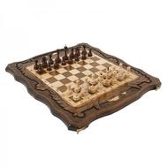 Шахматы + Нарды резные c Араратом 50, Haleyan, фото 1