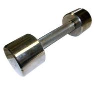 Гантель хромированная для фитнеса 3 кг MB-FitM-3, фото 1