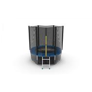 Батут EVO JUMP EXTERNAL 6 FT BLUE + LOWER NET, фото 1