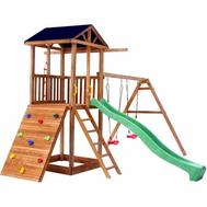 Детская площадка МОЖГА СПОРТИВНЫЙ ГОРОДОК СО СКАЛОДРОМОМ Р908, фото 1