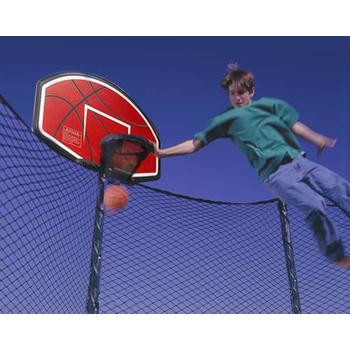 Баскетбольный щит для батута DFC ZY-BAT кольцо в комплекте, фото 3