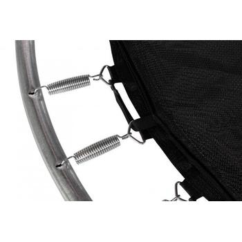 Батут уличный на пружинном каркасе - HASTTINGS CLASSIC GREEN 10FT, защитная сетка, лестница, фото 2