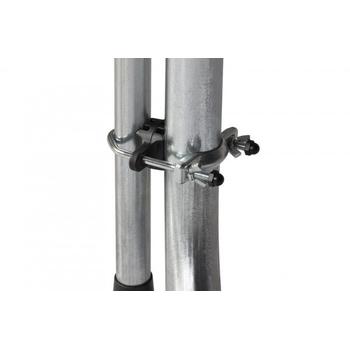 Батут уличный на пружинном каркасе - HASTTINGS CLASSIC GREEN 10FT, защитная сетка, лестница, фото 5
